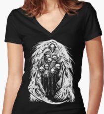 The Gravelord Women's Fitted V-Neck T-Shirt