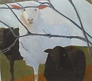 Love Thy Neighbors...Sheep by Kay Hale