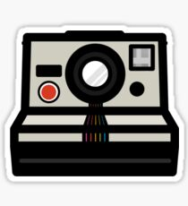Polaroid SX-70 Rainbow Sticker