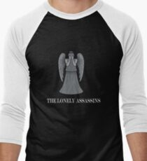 the lonely assassins - Weeping Angels Men's Baseball ¾ T-Shirt