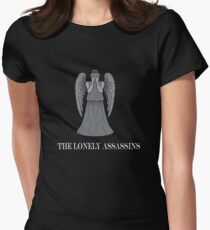 the lonely assassins - Weeping Angels Women's Fitted T-Shirt