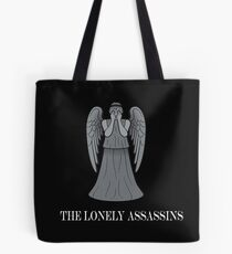 the lonely assassins - Weeping Angels Tote Bag