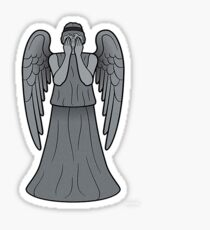 the lonely assassins - Weeping Angels Sticker