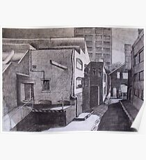 Studying with Rick Amor (Urban Landscape) Poster