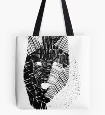 Wolf Mask Tote Bag