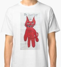 Red Cat sometimes bad is very good. Classic T-Shirt