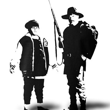 Ricky Baker and Uncle Hec, Hunt for the Wilderpeople by martin1989