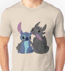 Zahnlos und Stitch Unisex T-Shirt