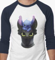 Stitch on Toothless T-Shirt