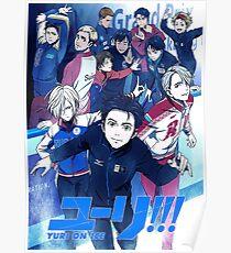 YURI ON ICE POSTER 4K Poster