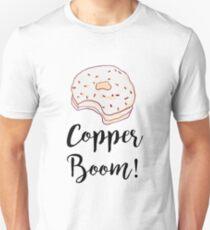 Copper Boom T-shirt Unisex T-Shirt