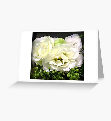 Lisianthus - Delicate & Beautiful Greeting Card