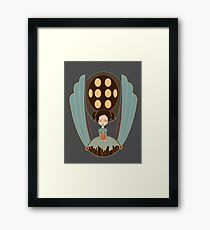 Bioshock little sister cool design Framed Print