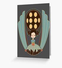 Bioshock little sister cool design Greeting Card