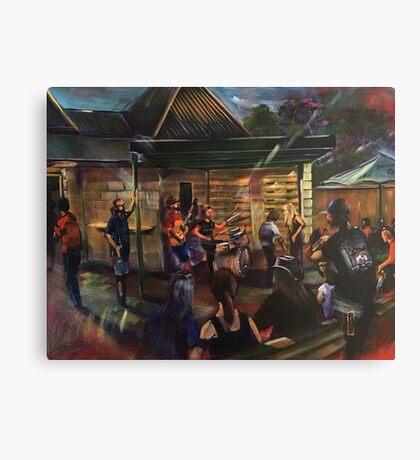 Urban Chiefs - Bird in Hand Inn Pitt Town Canvas Print
