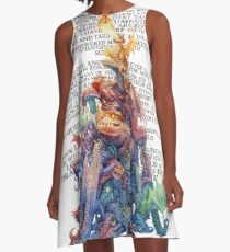Answer to the question Dragons A-Line Dress