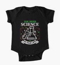 Scientific Body of Knowledge Shirt You Do Need Science T-Shirt Kids Clothes