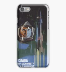 Glory to the First Cosmonaut! iPhone Case/Skin