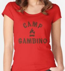 Camp Gambino Women's Fitted Scoop T-Shirt