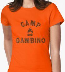 Camp Gambino Women's Fitted T-Shirt