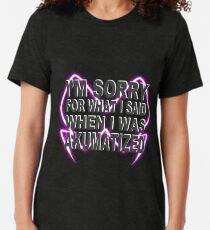 """""""Es tut mir leid, was ich gesagt habe, als ich akumatisiert wurde"""" Marienkäfer, Falkenmotte - schwarz Vintage T-Shirt"""