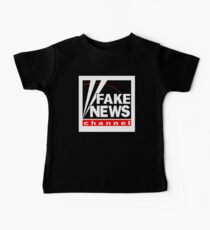 News Shirt from the Fake News Network Funny And Sarcastic T-Shirt Baby Tee