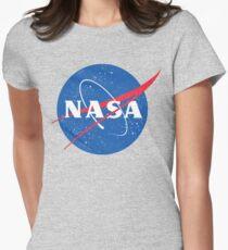 NASA Logo - Meatball - Vintage Distressed T-Shirt