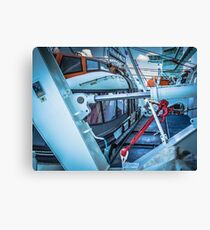Lifeboat Deck Canvas Print