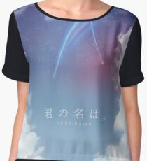 Kimi no na wa - SKY Women's Chiffon Top