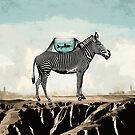 Zebra Friends Travelling the World by Paula Belle Flores