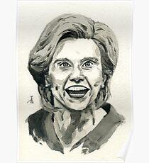 Kate McKinnon as SNL Hillary Clinton  Poster