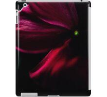 Flower in the dark iPad Case/Skin