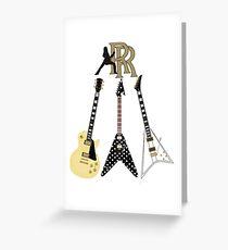 Randy Rhoads Collection Greeting Card