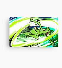 Sceptile | Leaf Blade Canvas Print