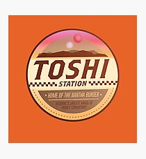 Toshi Station - Tatooine Photographic Print