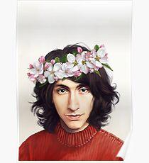 flower crown alex Poster
