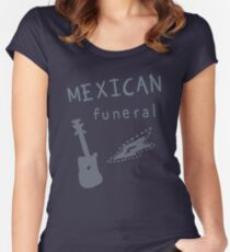 Mexican funeral Women's Fitted Scoop T-Shirt