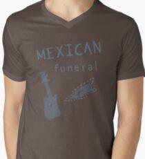 Mexican funeral Men's V-Neck T-Shirt