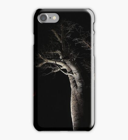 The Blood Moon And The Boab Tree iPhone Case/Skin