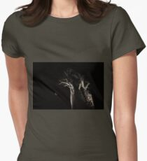 The Blood Moon And The Boab Tree Women's Fitted T-Shirt