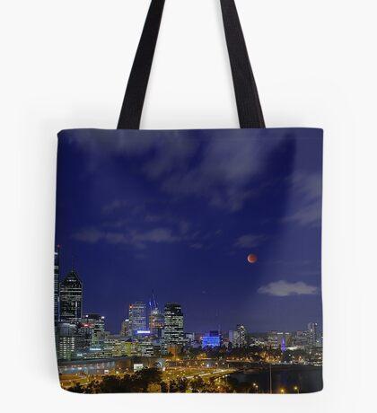 Lunar Eclipse - Perth Western Australia  Tote Bag