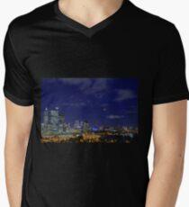 Lunar Eclipse - Perth Western Australia  Mens V-Neck T-Shirt