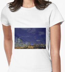 Lunar Eclipse - Perth Western Australia  Womens Fitted T-Shirt