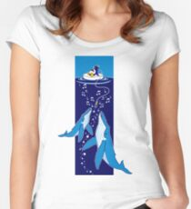 Ocean Sounds Women's Fitted Scoop T-Shirt