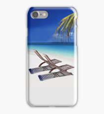 Relax at the Beach  iPhone Case/Skin
