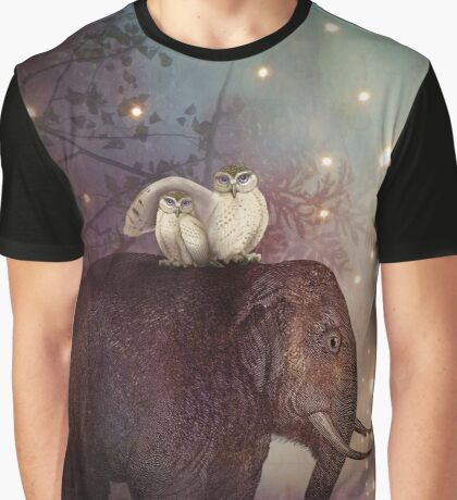 Riding through the Night Graphic T-Shirt