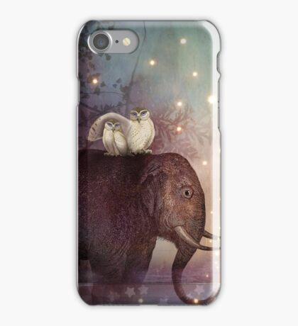 Riding through the Night iPhone Case/Skin
