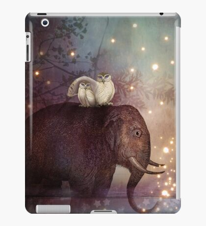 Riding through the Night iPad Case/Skin