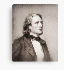 Franz Liszt, Composer Canvas Print