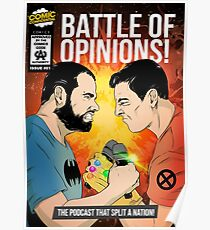 Battle of Opinions Poster